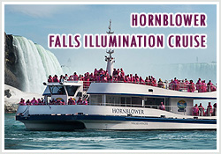 Hornblower Falls Illumination Cruise
